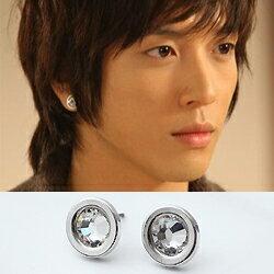 ^| Star World~Earring ^| CNBlue 鄭容和 同款簡潔 銀邊閃耀
