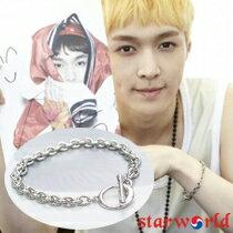 | Star World。Bracelets | EXO 張藝興 同款簡單輕巧圓環OT扣手鍊手環