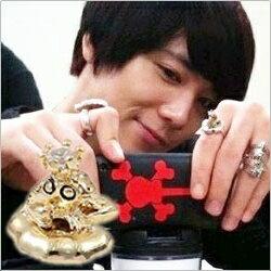 | Star World~RING | FTIsland 李洪基 同款青蛙王子 鑲鑽戒指