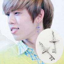 | Star World。Earring | INFINITE 東雨 同款行星圖案鑰匙吊墜耳環 (單支價)