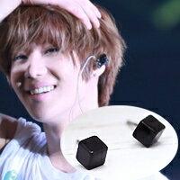 | Star World。Earring | SHINee 泰民 同款迷你黑色立方體耳釘耳環(單支價)