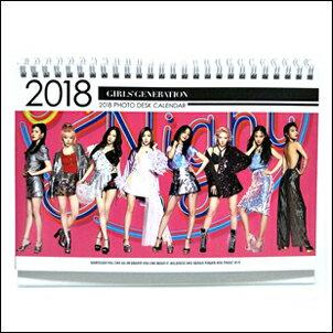 <br/><br/> 少女時代 韓國??? ?? 2018 ~ 2019 直立式照片桌曆台曆<br/><br/>