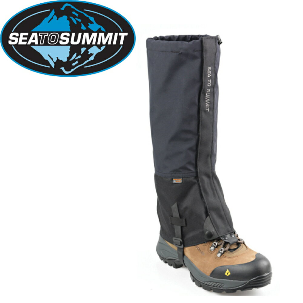 【Sea to Summit 澳洲 Alpine eVent 綁腿《黑》】STSAAEG/防水/防雪/登山
