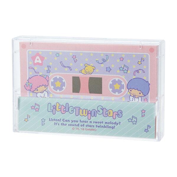 【真愛日本】4901610303412日本製便條紙80枚-TS錄音帶ACQ雙子星KIKILALA便條紙