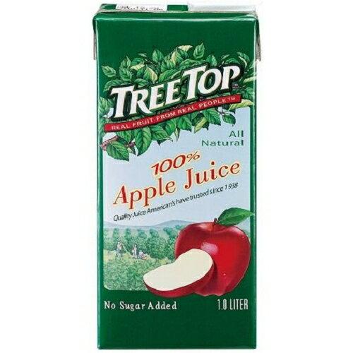 <br/><br/>  樹頂TreeTop100%蘋果汁1000ml【愛買】<br/><br/>