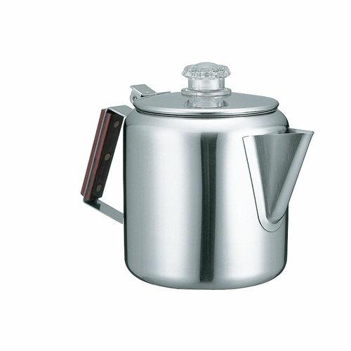 【速捷戶外】美國Coleman CM-8028 五人不鏽鋼咖啡壺 1.3L 咖啡壺 燒水壺茶壺煮水壺露營