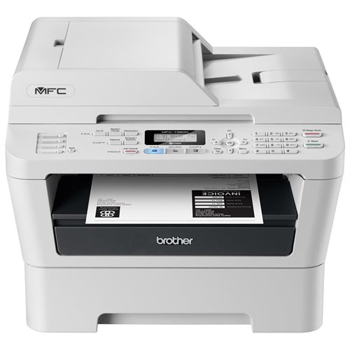 Refurbished Brother MFC-7360N Laser All-in-One Printer with Networking, Fax, Copy, Scan 0