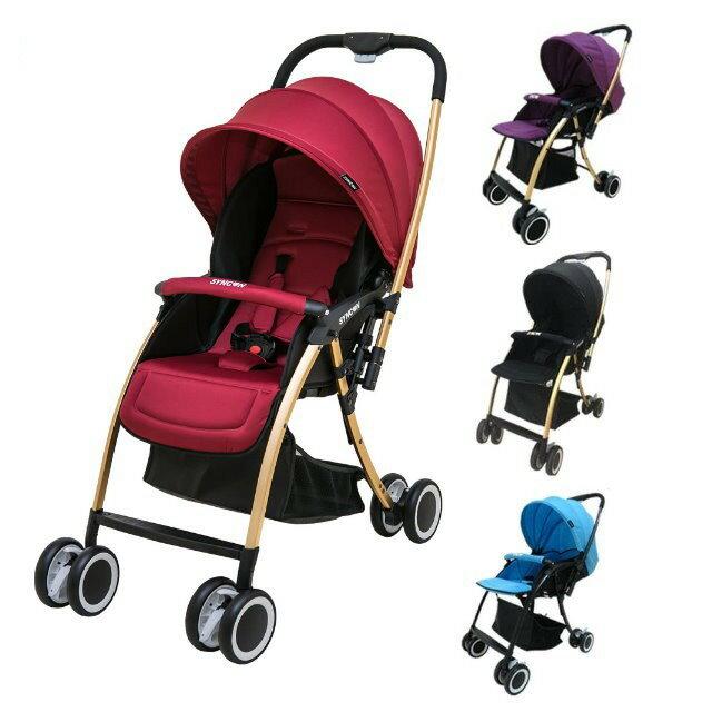 麗嬰兒童玩具館~美國欣康SYNCON-HS500雙向嬰兒手推車.秒縮車-門市限定車款
