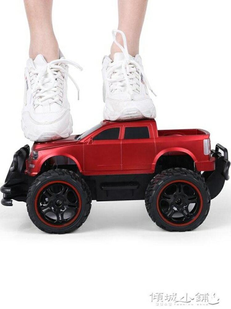 遙控車 超大遙控車越野車充電無線遙控汽車兒童玩具男孩玩具車電動漂移車 傾城小鋪 母親節禮物