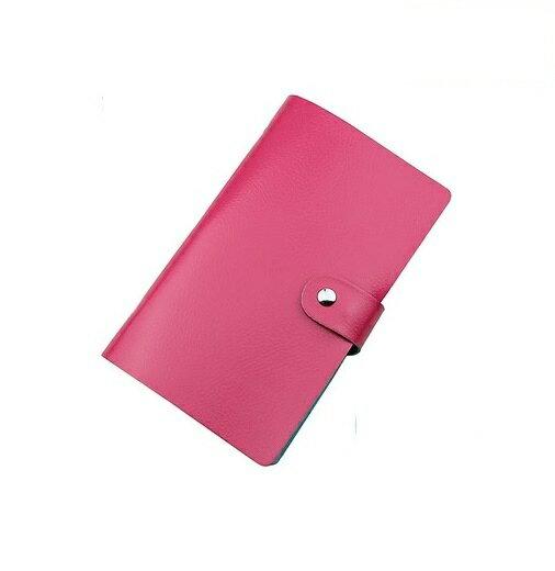 【喜番屋】韓版PU男女通用24卡位隨身防消磁銀行金融信用卡夾卡套卡夾卡包卡片包卡片夾名片包名片夾卡套【CB01】 1