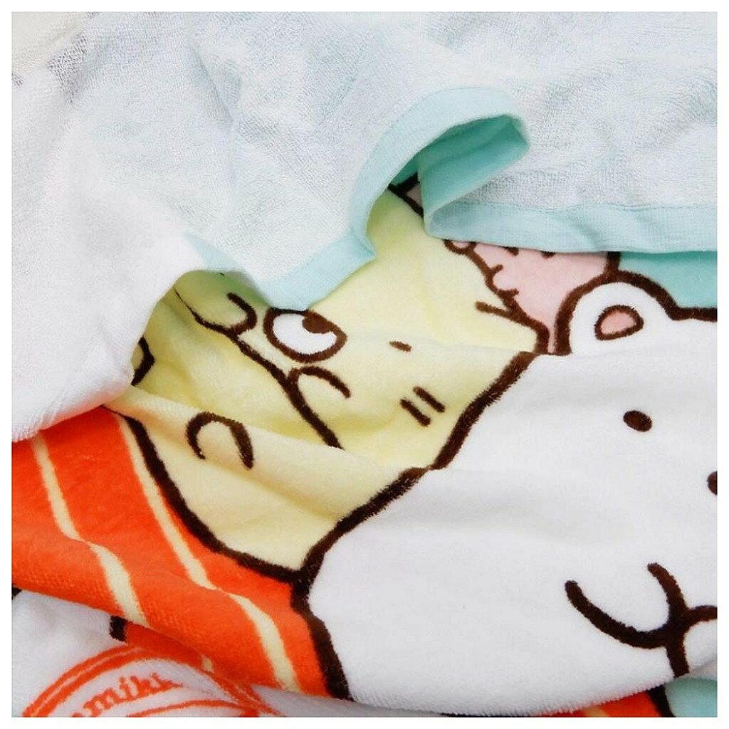【積文館】浴巾 日本進口 角落小生物 角落公仔 輕薄(140*70cm) 2
