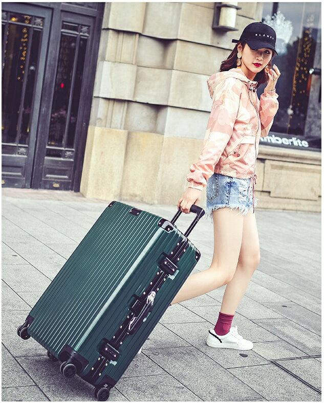 《箱旅世界》BoxTrip 20吋復古、懷舊防刮登機箱 行李箱 旅行箱 鋁框箱 8