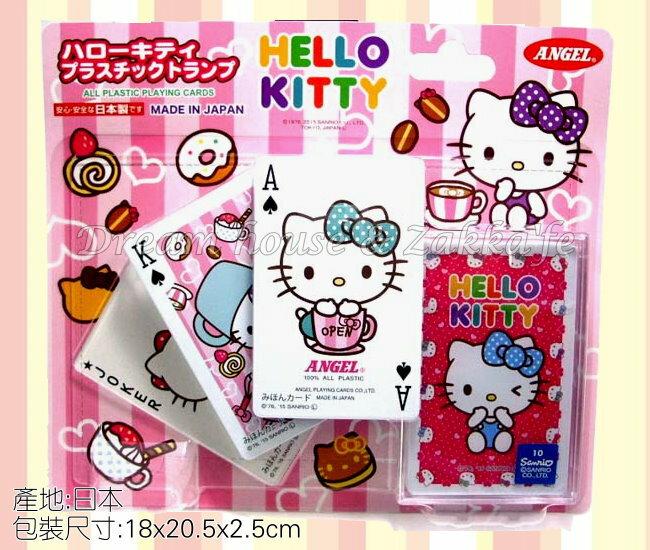 日本限定 sanrio 三麗鷗 Hello Kitty 撲克牌 《 日本製 》★ 夢想家精品生活家飾 ★ - 限時優惠好康折扣