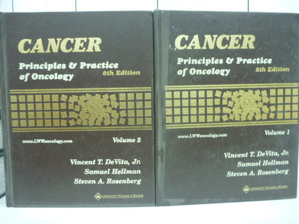 【書寶二手書T3/大學理工醫_ZHM】Cancer_Principles&Practice of Oncology_6版