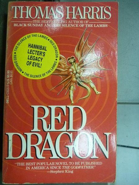 【書寶二手書T9╱原文小說_IDU】Red Dragon_Thomas Harris
