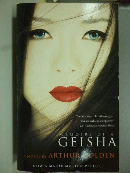 【書寶二手書T4╱一般小說_JPD】Memoirs of a Geisha_Golden, Arthur