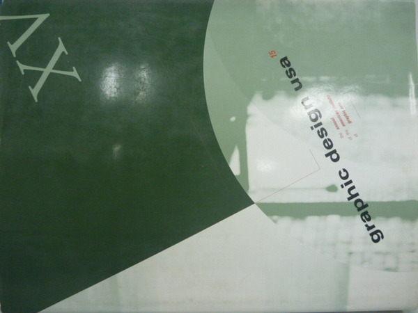 【書寶二手書T7/設計_ZED】graphic design usa_15