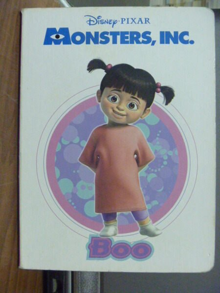 【書寶二手書T7╱少年童書_JEA】Monsters ,INC. Boo_Melissa Lagonegro _書側粉