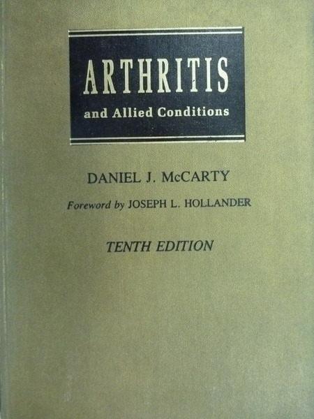 【書寶二手書T6/大學理工醫_QJA】Arthritis and Allied Conditions_McCART_3版