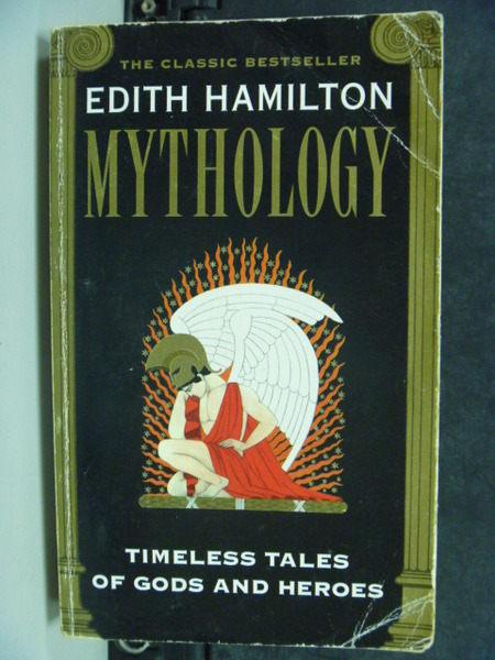 【書寶二手書T8/宗教_HAZ】Mythology:Timeless Tales Of Gods & Heroes_