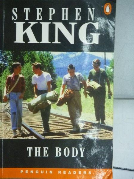 【書寶二手書T1╱原文小說_ODX】The Body_King