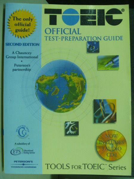 【書寶二手書T5/語言學習_PJS】Toeic official Test-Prepare Guide