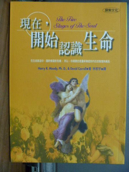【書寶二手書T7╱宗教_LLG】現在,開始認識生命_林若宇, HARRY R.MOOD