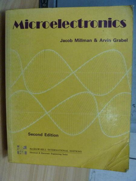 【書寶二手書T3/大學理工醫_YBE】Microelectronics_Jacob_2/e_1987年