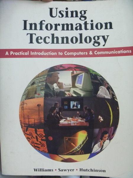 【書寶二手書T6/大學資訊_QBL】Using Information Technology_Brian K. Will