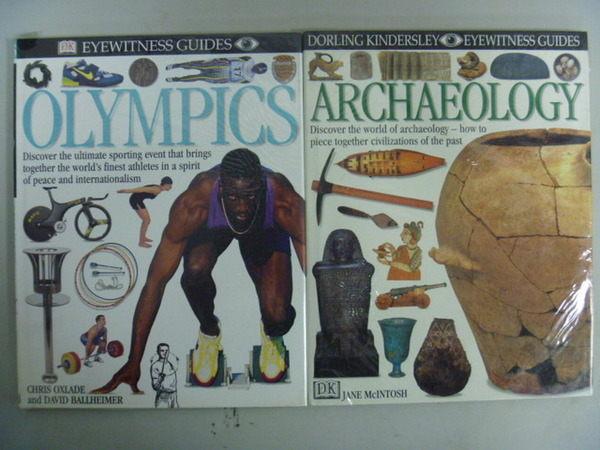 【書寶二手書T2/體育_ZIO】Olympics_Archaeology_2本合售