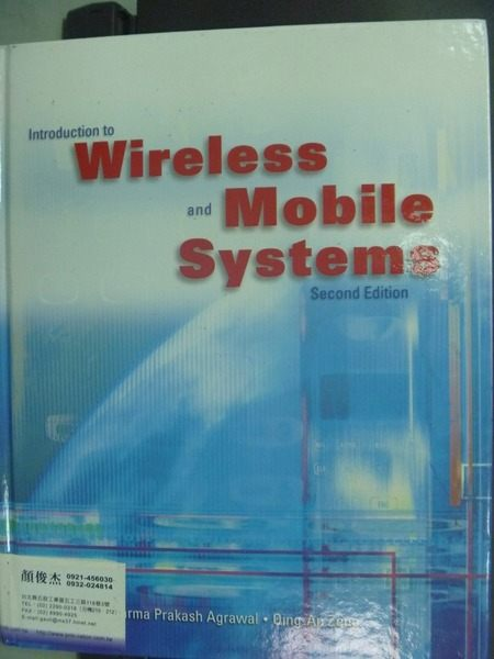 【書寶二手書T4/大學理工醫_QDL】Introduction To Wireless And Mobile Syste