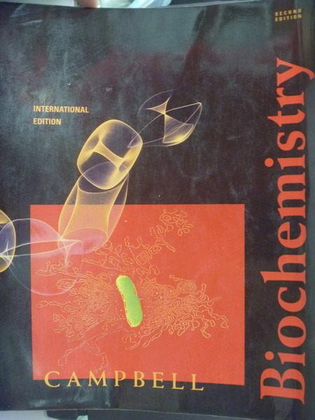 【書寶二手書T8/大學理工醫_QLC】Biochemistry 2/e_Campbell