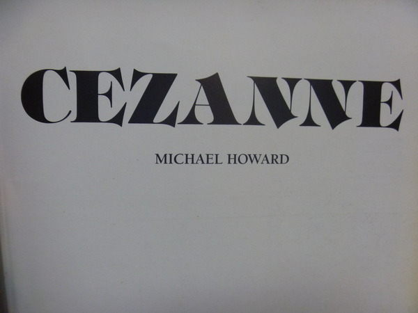 【書寶二手書T8/藝術_XGA】Cezanne_Michael howard