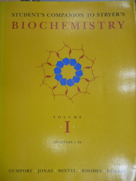 【書寶二手書T8/大學理工醫_YGB】Stryers Biochemistry_vol.1_chapter1~26_Gu