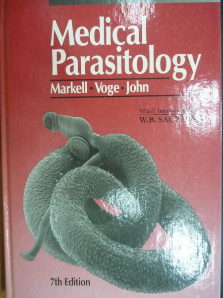 ~書寶 書T5/大學理工醫_XDR~Medical Parasitology_Edward