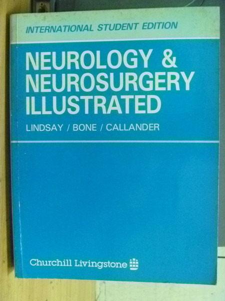 【書寶二手書T5/大學理工醫_XAF】Neurology&Neurosurgery Illustrated_Lindsa