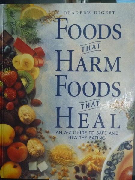 【書寶二手書T2/養生_PPC】Foods That Harm, Foods That Heal