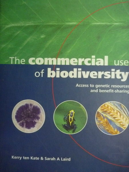 ~書寶 書T7/科學_ZAL~The commercial use of biodiver