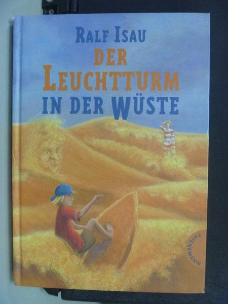 【書寶二手書T8/原文小說_HSG】Der Leuchtturm in der W??ste_Ralf Isau