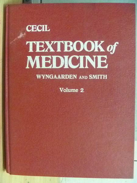 ~書寶 書T7/大學理工醫_XEC~Cecil_Textbook of Medicine_