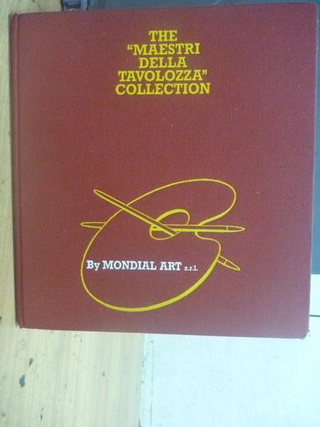 【書寶二手書T4/大學藝術傳播_ZDQ】The Maestri Della Tavolozza Collection_M