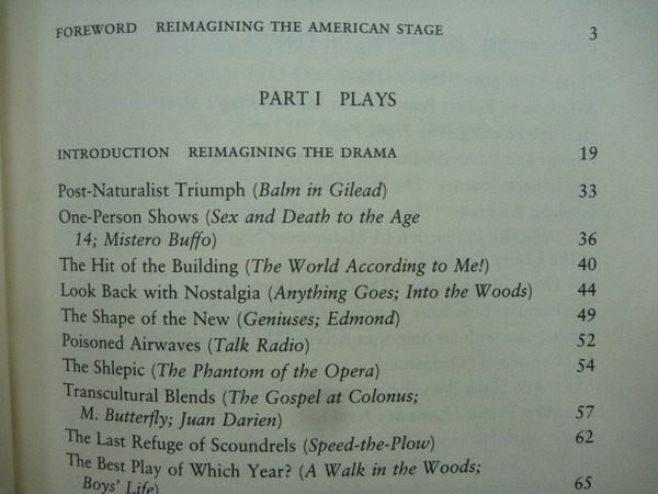 【書寶二手書T9/藝術_YBM】Reimagining American Theatre_Brustein_1991年