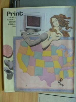 【書寶二手書T4/廣告_ZGO】Prints Regional Design Annual 1999
