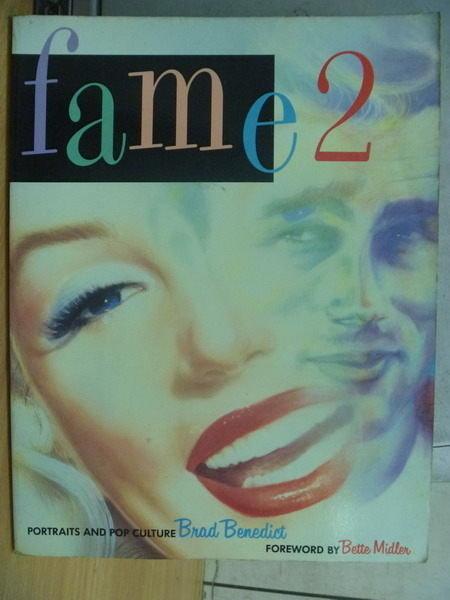 【書寶二手書T5/繪本_WFC】fame_2_Brad Benedict