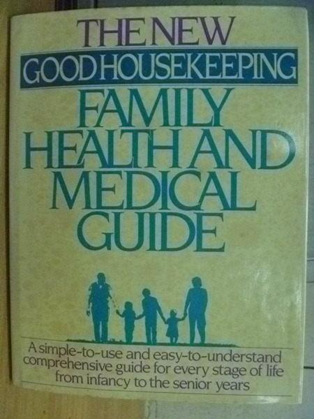~書寶 書T6/保健_YKF~Family Health and Medical Guid