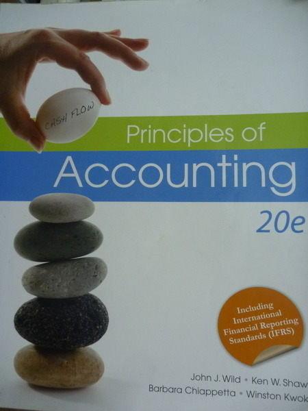【書寶二手書T4/大學商學_PLR】Principles of Accounting_Wild,Shaw,Chiappe