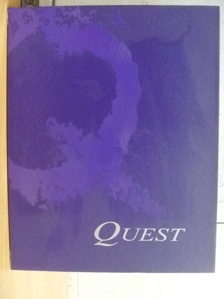 【書寶二手書T4/語言學習_XDN】Quest_1書+12片光碟合售_屠龍英雄四部曲簡介等