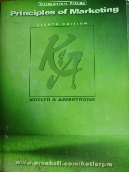 【書寶二手書T7/大學理工醫_QJS】PRINCIPLES OF MARKETING_Kotler & Armstron