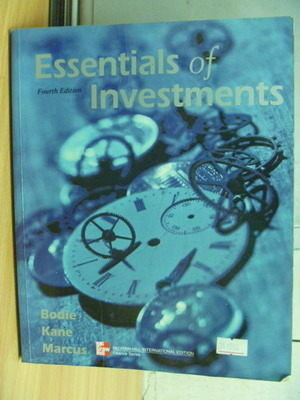 【書寶二手書T6/大學商學_ZCG】Essentials of Investments