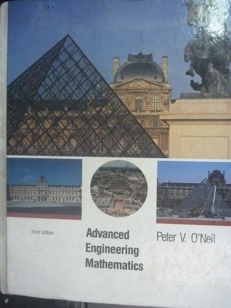 【書寶二手書T9/大學理工醫_ZDA】Advanced Engineering Mathematics_3/e_Pete
